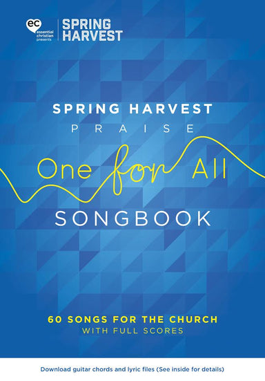 Image of Spring Harvest Praise One For All Songbook other