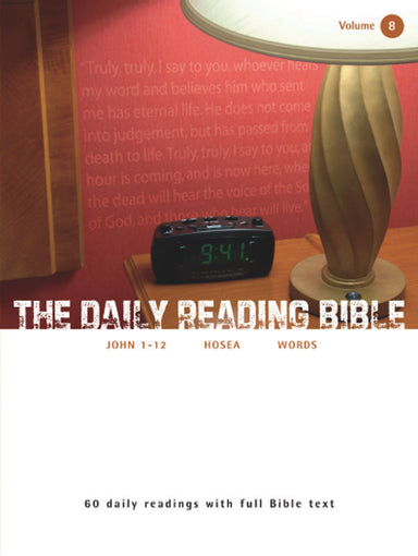 Image of The Daily Reading Bible Vol 8 other