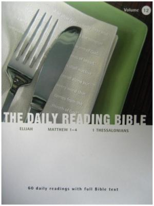 Image of Daily Reading Bible Vol 12 other