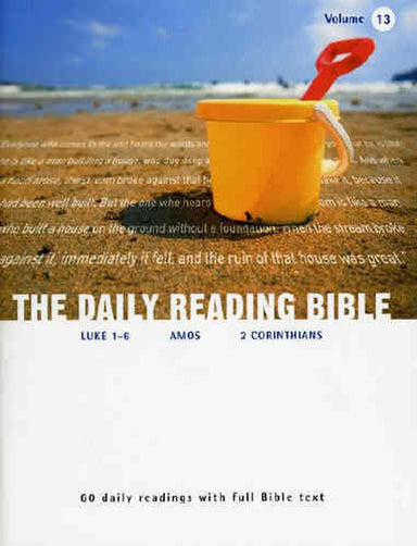Image of Daily Reading Bible Vol 13 other