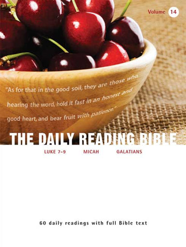 Image of Daily reading Bible Volume 14 other