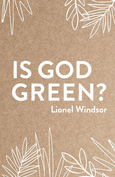 Image of Is God Green? other