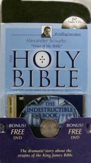 Image of Scourby Complete Kjv Audio Bible Indestr other