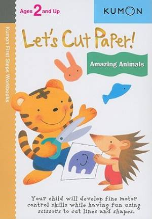 Image of Lets Cut Paper Amazing Animals other