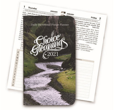 Image of Choice Gleanings Pocket Planner 2021 other