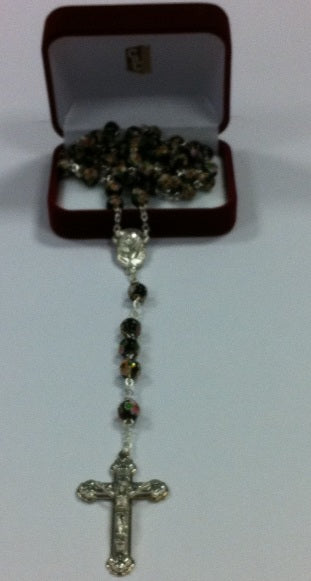 Image of Black Cloison Bead Rosary other