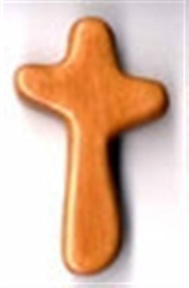 "Image of Holding Cross 3.5"" other"