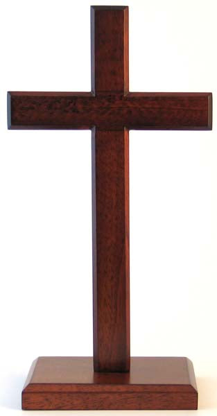 Image of Cross 30cm (Standing) Square Base other
