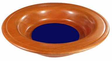 Image of Offering Plate - Blue - 12in diameter other