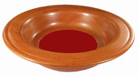 Image of Offering Plate - Red - 12in diameter other