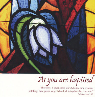 Image of As You are Baptised - Single Card other