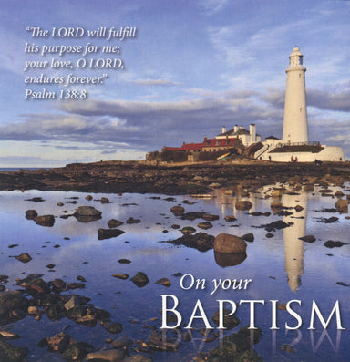 Image of On Your Baptism - Single Card other