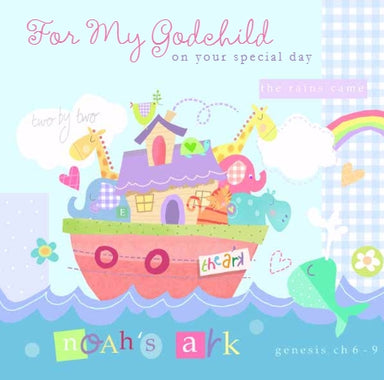 Image of For My Godchild Single Card other