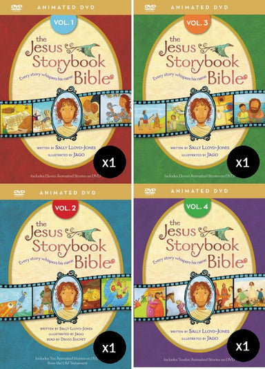 Image of The Jesus Storybook Bible Animation DVD Value Pack other