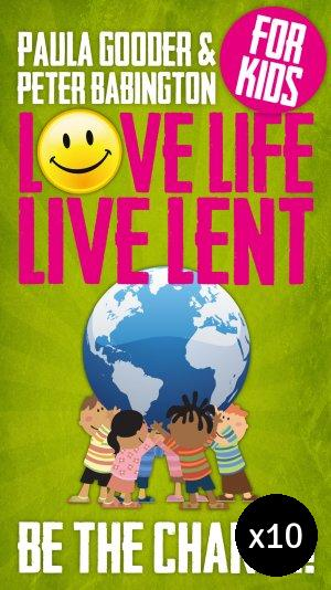 Image of Love Life Live Lent Kids - Pack of 10 other