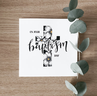 Image of On Your Baptism Day - Single Card other