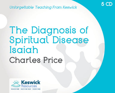 Image of The Diagnosis Of Spiritual Disease a series of talks by Charles Price other