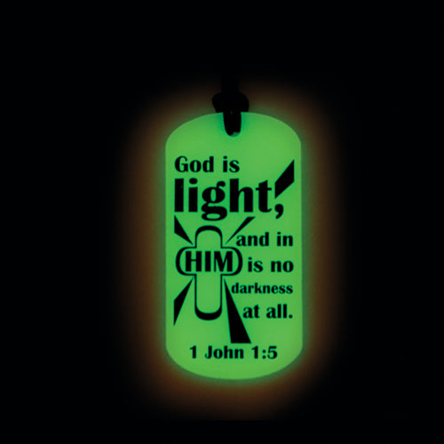 Image of Glow in the Dark Dog Tag other