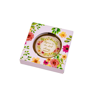 Image of Floral Compact Mirror other