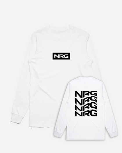 NRG Flow White Long Sleeve