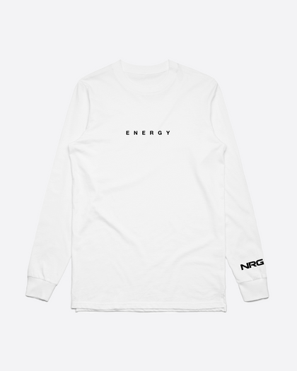 Energy White Long Sleeve