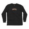 SKULL BLACK LONG SLEEVE