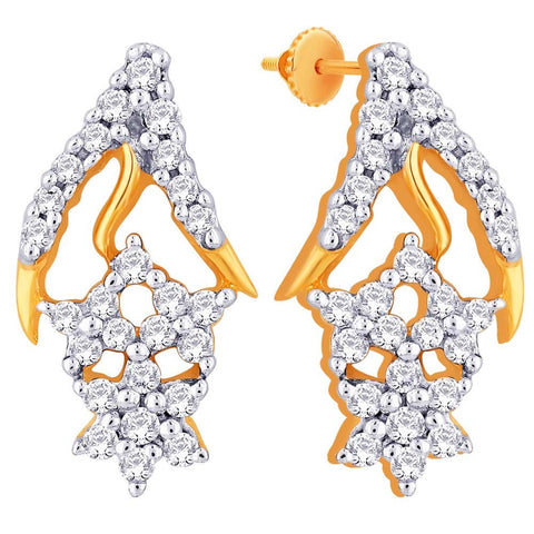 Asmi Diamond Earring ADE00276VVS-GH