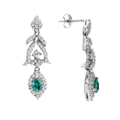Lucera Silver Earring EF12942 Fashion Jewellery