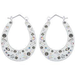 Lucera Silver Earring EF16406 Fashion Jewellery