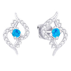 Lucera Silver Earring EF8825 Fashion Jewellery
