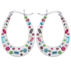 Lucera Silver Earring EF16405 Fashion Jewellery