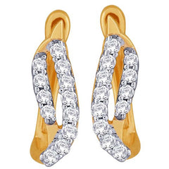 Asmi Diamond Earring ADE00679SI-JK