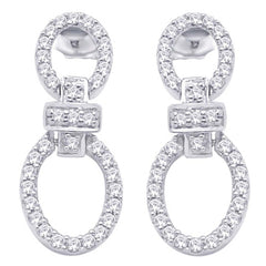 Lucera Silver Earring EE1152 Fashion Jewellery