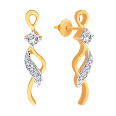 Asmi Diamond Earring ADE00017VS-GH