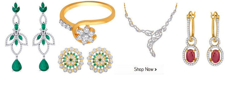Diamond Jewellery Collection by India's premium brands