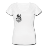 Women's Scoop Neck T-Shirt - white