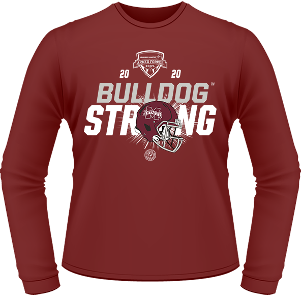 2020 MISSISSIPPI STATE BULLDOGS PERFORMANCE LONG SLEEVE