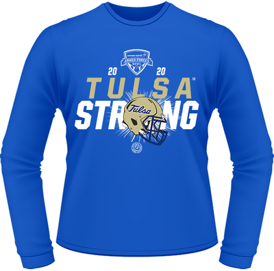 2020 TULSA GOLDEN HURRICANE PERFORMANCE LONG SLEEVE