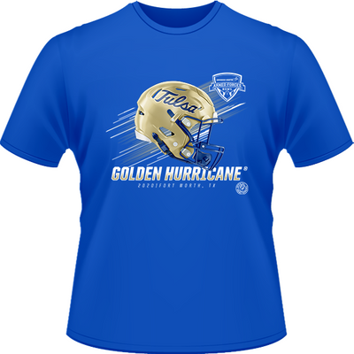 2020 TULSA GOLDEN HURRICANE TEE