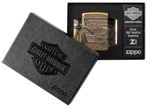 Zippo Feuerzeug Harley Davidson Collectible of the Year 2019 in offener Box