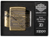 Zippo Feuerzeug Harley Davidson Collectible of the Year 2019 in offener Luxusbox