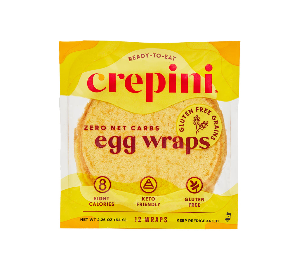 Petite Egg Wraps With Gluten-Free Grains