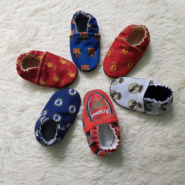 Assorted Football Club Baby Shoes