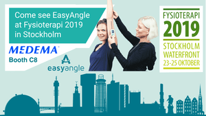 Come see EasyAngle at Fysioterapi 2019 in Stockholm