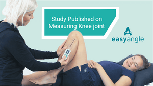 Study Published on Reliability of using EasyAngle to measure Knee Joint