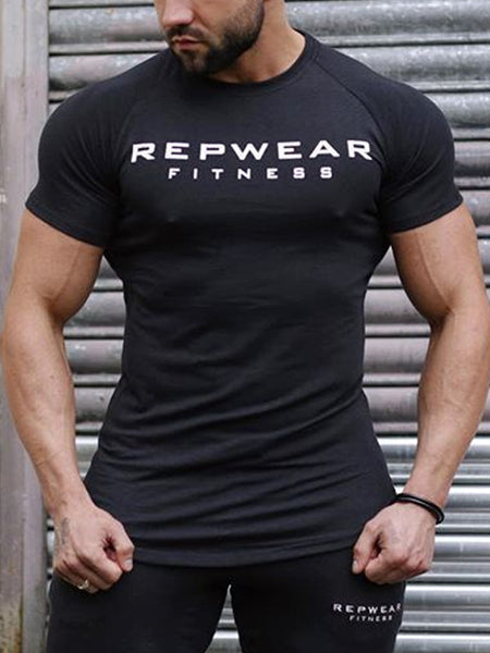 Mens Casual Round Neck  T-shirt