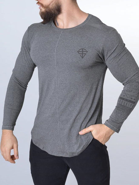 Sports Slim Fitness Basketball  T-Shirt