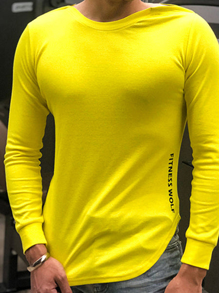 Mens Fashion Round Neck T-shirt