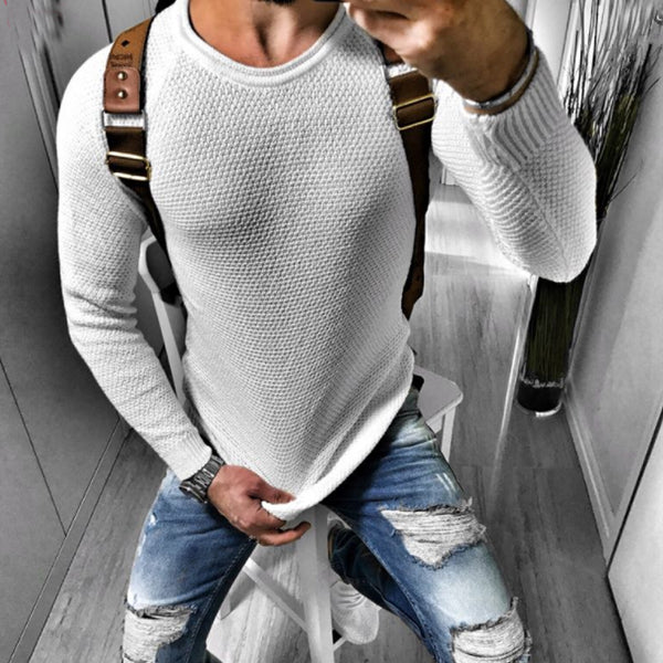 Mens Fashion Casual  Sweater
