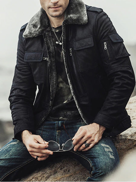 Mens Fashion Personality Motorcycle Jacket
